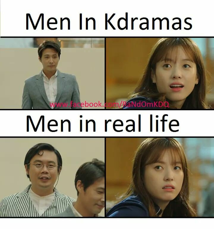 kdrama man vs real man